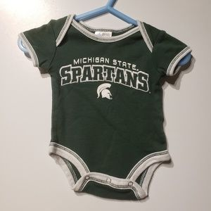 baby boys state football bodysuit size 0./3 months